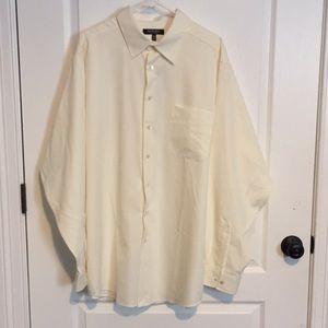 NWT Off White Murano Easy Care Dress Shirt 2XLT